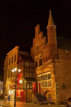 VVV 's-Hertogenbosch bei Nacht von Rob van Eerd