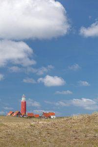 Vuurtoren Eierland op het eiland Texel van