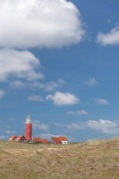 Vuurtoren Eierland op het eiland Texel van Wesley Flaman