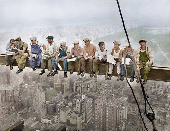 Lunch atop a Skyscraper (1932)