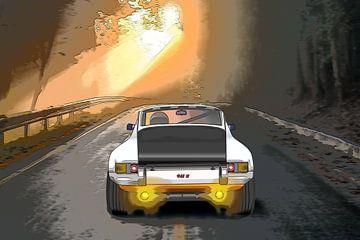 Porsche 911 S oldtimer racewagen van EyeCandyCarz