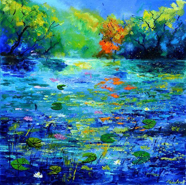 Blue pond von pol ledent