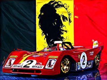 Legends Of Racing - Jacky Ickx van Jean-Louis Glineur alias DeVerviers