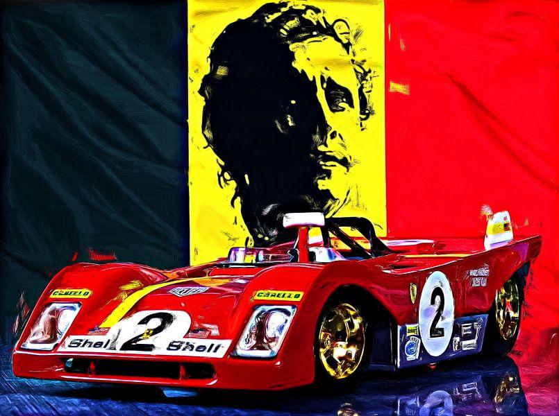 Legends Of Racing - Jacky Ickx von Jean-Louis Glineur alias DeVerviers