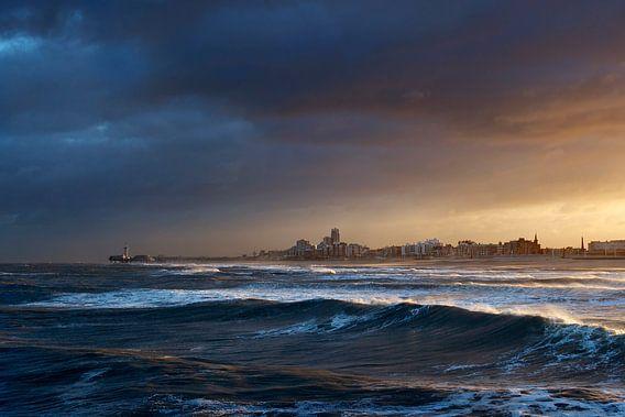 Storm over Scheveningen
