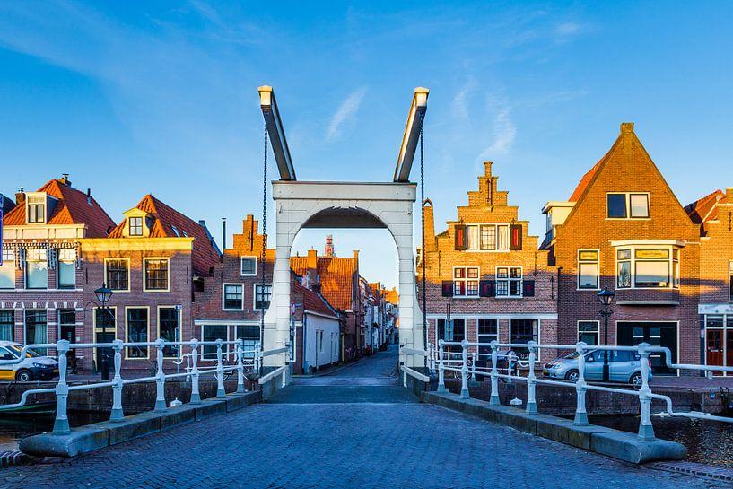 Stadsgezicht Alkmaar, Nederland van Hilda Weges