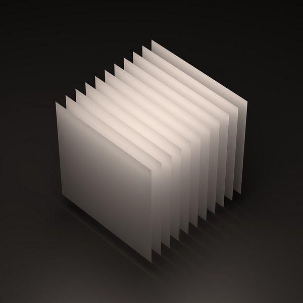 Geometrischer Körper: Kubus von Jörg Hausmann