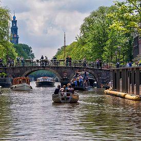 Amsterdamse grachten van Anouschka Hendriks
