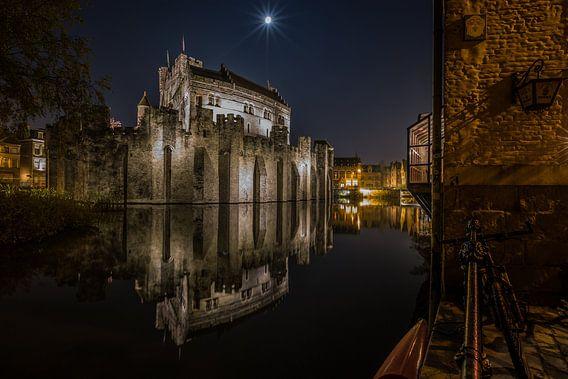 Het Gravensteen in Gent van MS Fotografie