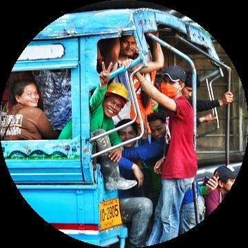 Blije forensen in Bangkok van SPOOR Spoor