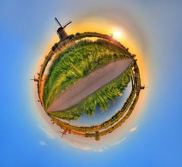Planeet Kinderdijk von Dennis van de Water