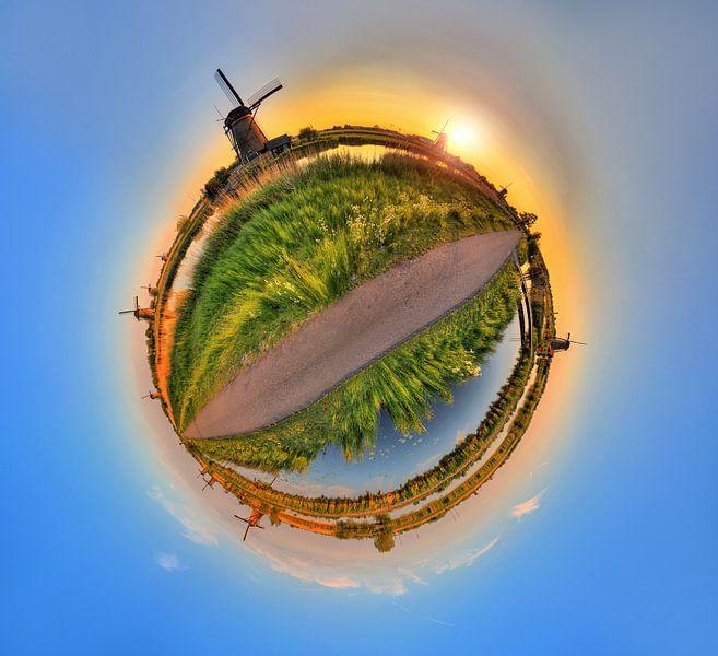 Planeet Kinderdijk van Dennis van de Water
