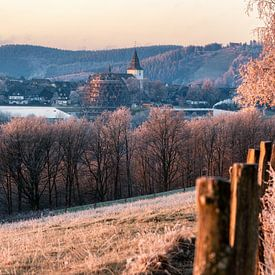 Frostiger Morgen in Winterberg im Sauerland von Deimel Fotografie
