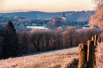 Frostiger Morgen in Winterberg im Sauerland