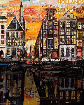 Amsterdam von Jorien Stel Paper-Art