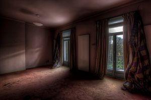 Verlaten hotel/kasteel van