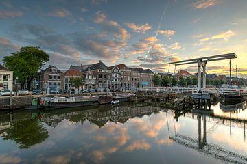 Thorbeckegracht Zwolle mit Pelser Brücke