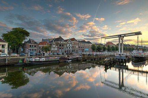 Thorbeckegracht Zwolle met Pelserbrugje