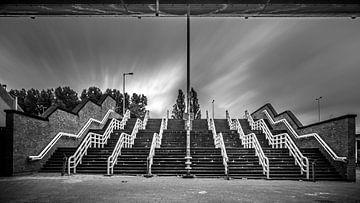 Treppe bei De Kuip Rotterdam von Danny den Breejen