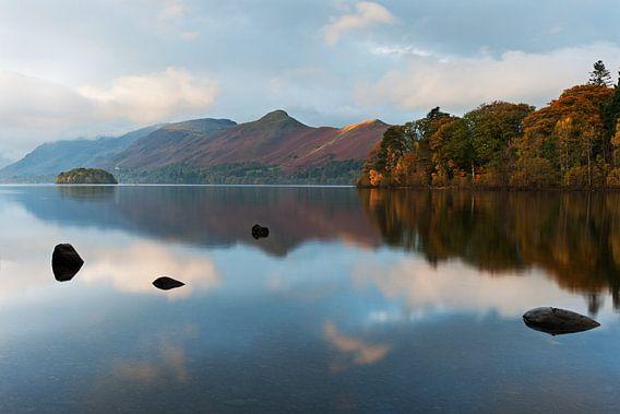 Herfstmorgen in het Lake District van Berbera van den Hoek