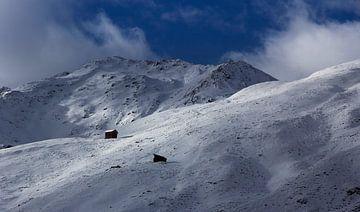 Haus auf dem Berg von Nathan Marcusse