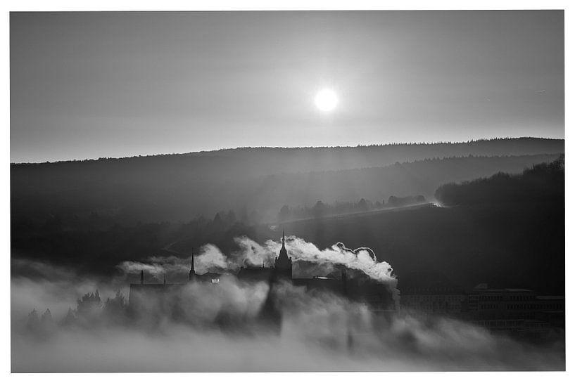 sunrise in BW van Heinz Grates
