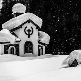 St. Hubertuskapelle in Hinterbichl - Osttirol - Österreich von Felina Photography