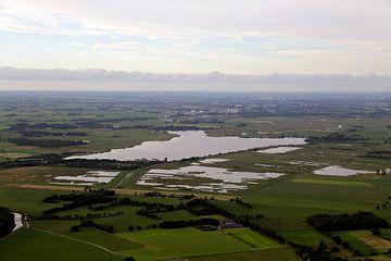 Lake Leekster aus der Luft von Sander de Jong