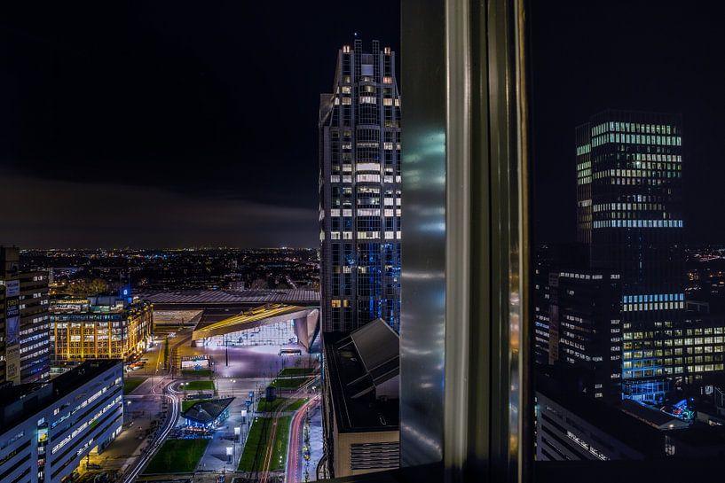 Rotterdam Architectuur Uitzicht  van Steven Dijkshoorn