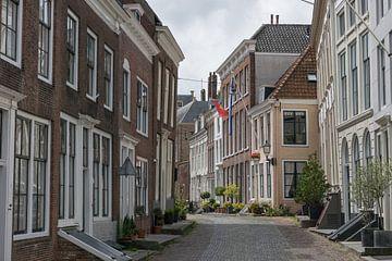 Enge klassische Molstraat in Middelburg