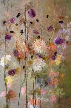 Blütenaufguss 2 von Saskia Dingemans