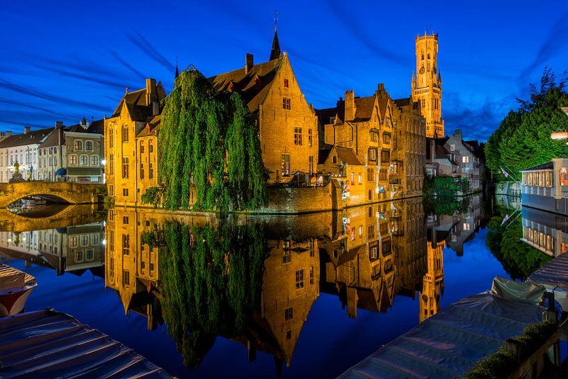 Rozenhoedkaai Brugge von Bert Beckers