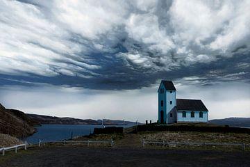 Landschap in IJsland von Gert Hilbink