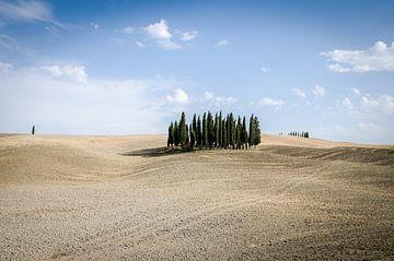 Toscaanse weg van Gerben van den Hazel