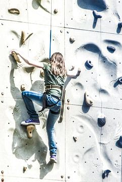 Omhoog klimmen