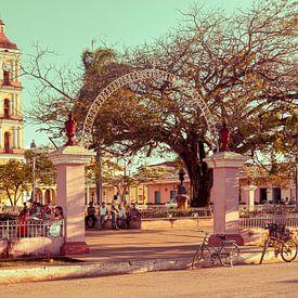 Plaza de Isabel II, San Juan de los Remedios, Cuba van Jan de Vries