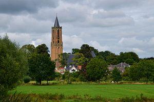Vue d'Andrieskerk Amerongen sur Leo Huijzer