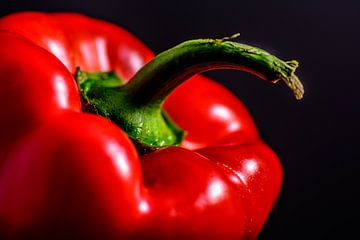 Rode paprika van Patrick Herzberg