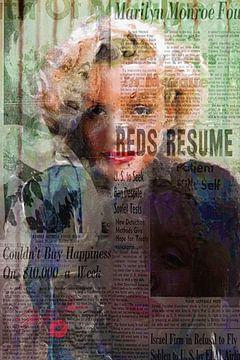 Marilyn Monroe Controversy | Marilyn Monroe Pop Art van Leah Devora