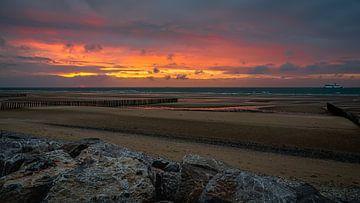 Sangatte aan de Opaalkust Normandië van HvNunenfoto