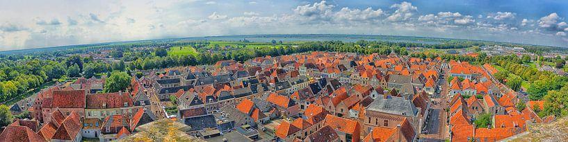 Panorama Elburg van Jessica Berendsen