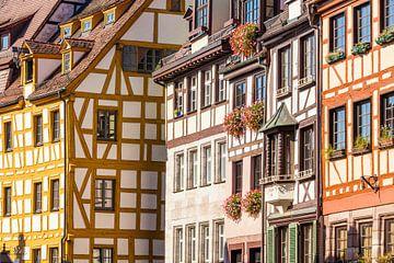 Old town of Nuremberg in Germany sur