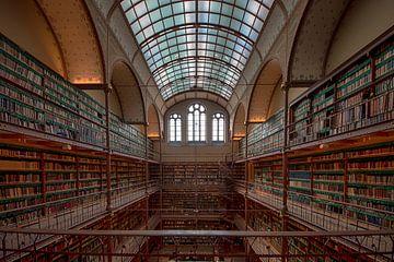 Bibliotheek Rijksmuseum Amsterdam van Peter Bartelings