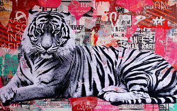 Tiger Stil von Michiel Folkers