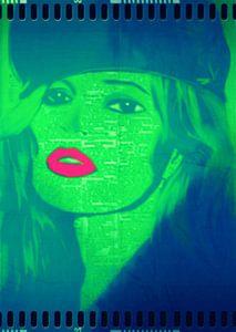 Kate Moss Red Lips 1 Pop Art PUR