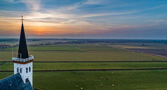 Kerk Den Hoorn Texel van Texel360Fotografie Richard Heerschap