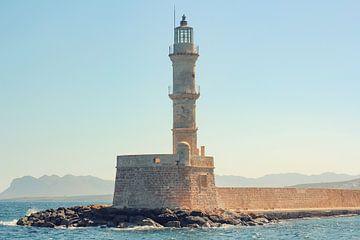 Leuchtturm in Chania, Kreta (Griechenland) von Mike Maes