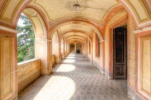 Zarte und warme Farben - Verlassene Villa in Italien