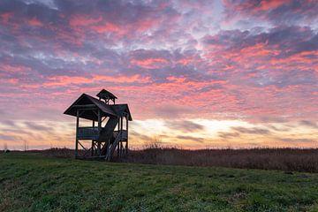 Uitkijktoren Zuidlaardermeer van Eddy Reynecke