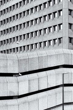 Architecture, lignes et structures sur Annemiek van Eeden